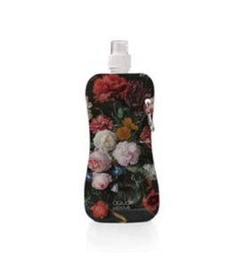 Aqua-licious duurzaam waterflesje Flowers Jan Davidz