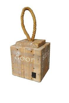 Dutch Mood home dec old dutch doorstop rope