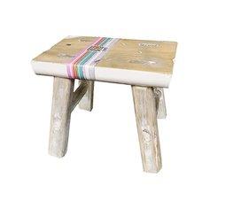 Dutch Mood furn old dutch deco stool 20 C