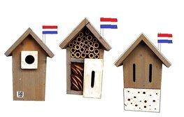 Dutch Mood birdhouse old dutch insect/bird mix 12