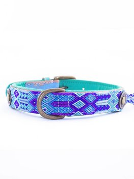 Dog With A Mission Halsband Blue 2,5 cm L