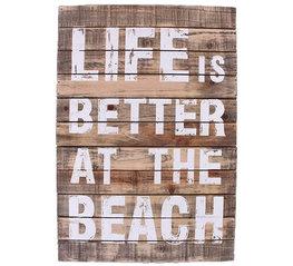 La Finesse Houten Bord Beach