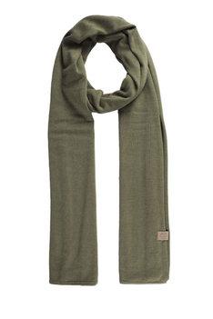 Zusss fijngebreide zachte sjaal groen