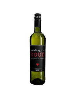 Flessenwerk Wijn Vandaag is Rood