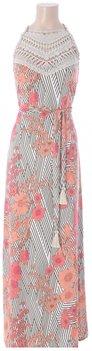 K Design Maxi jurk met bloemenprint
