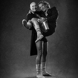 M&M Mr dark grey&Mr light grey grey 42-47 knee