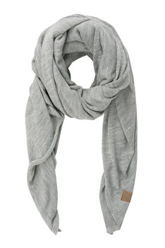 Zusss stoere grote sjaal grijs melee