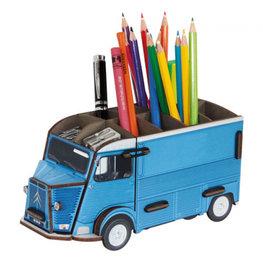 Werkhaus Pen Box Citroen HY Blue