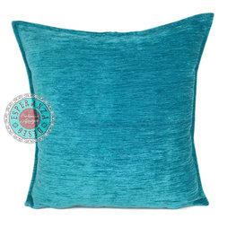 Esperanza Deseo kussenhoes Turquoise ± 45x45cm