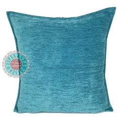 Esperanza Deseo kussenhoes Turquoise ± 70x70cm