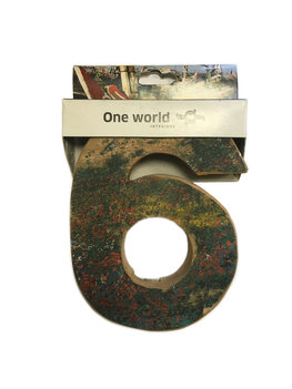 One World Interiors Houten Cijfer 6