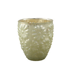 PTMD floral green Glass round stormlight S