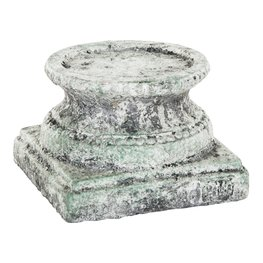 PTMD Cement grey candle holder XS