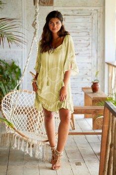 Hot Lava Dress Talamanca SOL Olive