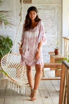 Hot Lava Dress Talamanca SOL Dusty Lilac