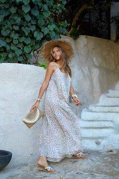 Hot Lava Dress Anna Leopard