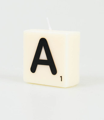 Letter Kaarsje A