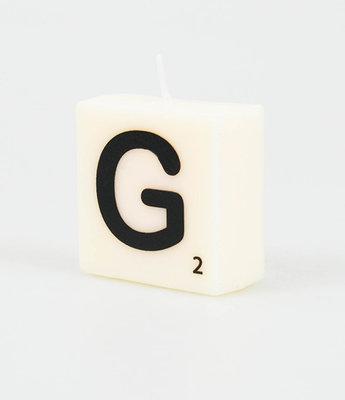 Letter Kaarsje G