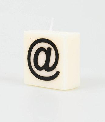 Letter Kaarsje Apestaartje