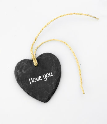 Natuursteen Hartje I Love You