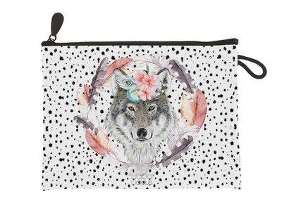 Aqua-licious Clutch Wolf