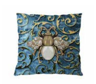 Aqua-licious Sierkussen Scarabee