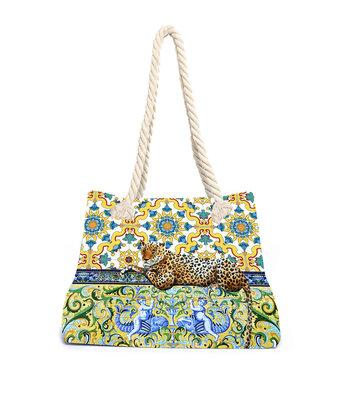Aqua-licious Beachbag Maiolica