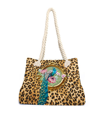 Aqua-licious Beachbag Leo Miss Peacock