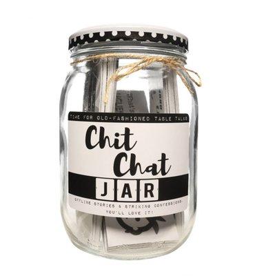Kletspot Chit Chat Jar