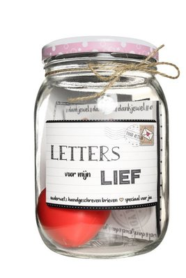 Kletspot Letters voor mijn lief