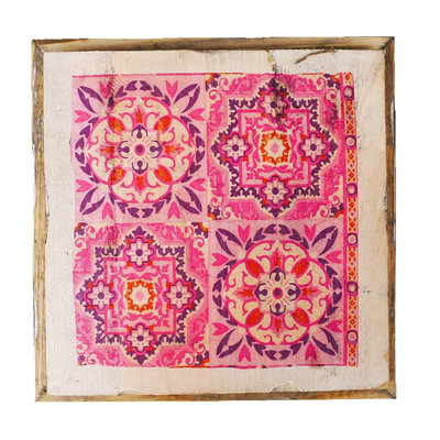 Dutch Mood wd tile old dutch india pink out