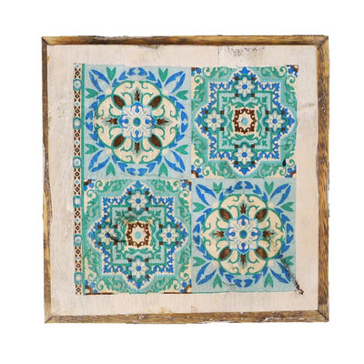 Dutch Mood wd tile old dutch india green out
