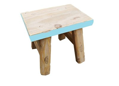 Dutch Mood furn old dutch deco stool 20 boy