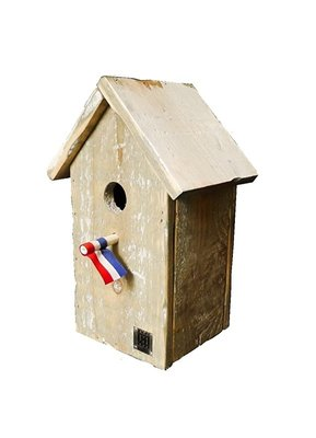 Dutch Mood birdhouse old dutch StB pointed roof
