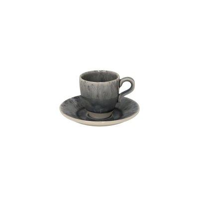 Costa Nova Espresso Koffie Kop Schotel Grijs