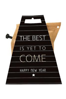 Liv n Taste Happy New Year Coffeebrewer Kaart