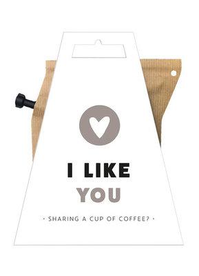 Liv n Taste I Like You Coffeebrewer Kaart