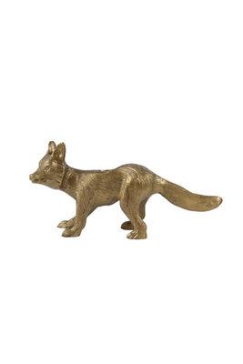 Zusss kandelaar vos brons
