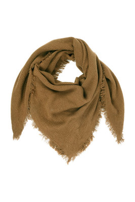 Zusss zachte vierkante sjaal gewafeld muskaat