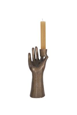 Zusss kandelaar hand brons