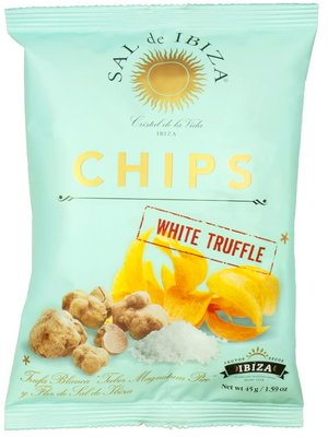 Sal de Ibiza Chips met Truffel 125 gram