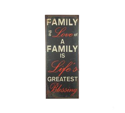 La Finesse Tekst Bord Family Love