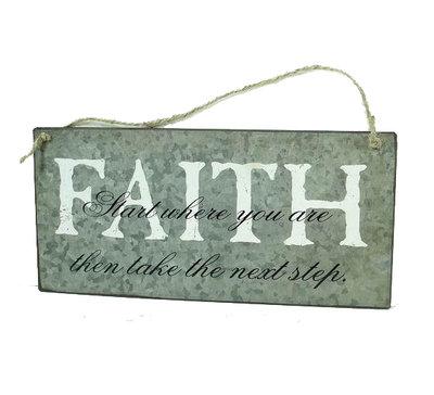 La Finesse Tekst Bord Faith