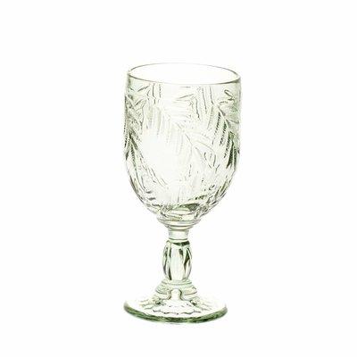 Wijnglas Palm grijsgroen