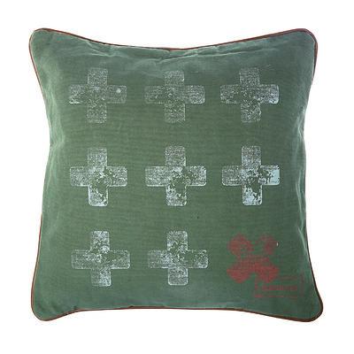 Kussen Army groen 45x45cm