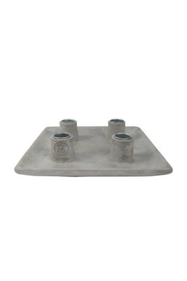 Zusss kaarsenhouder beton L