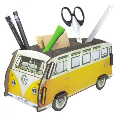 Werkhaus Pen Box VW-Bus Yellow