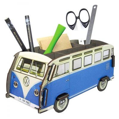 Werkhaus Pen Box VW-Bus Blue