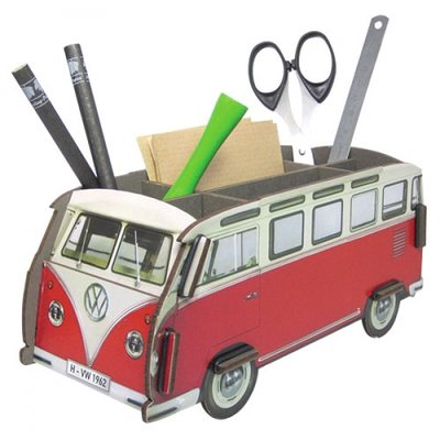 Werkhaus Pen Box VW-Bus Red