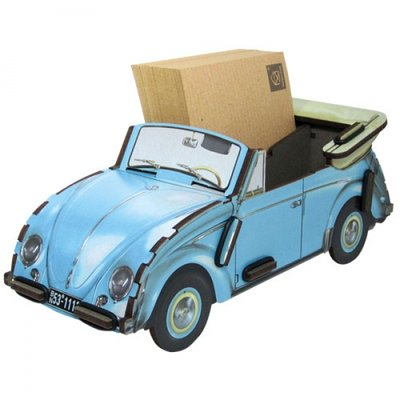Werkhaus Pen Box VW Convertible Blue